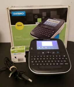 Dymo Labelmanager 500ts Touch Screen Label Maker Labeler