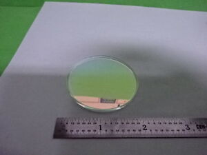 Optical Fused Silica Fs Dichroic Coated Flat Mirror Laser Optics As Is 58 c 02