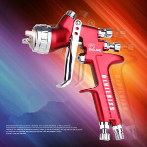 Devilbiss Gfg Hvlp Spray Gun Professional Car Paint Gun 1 3mm Nozzle 600ml Pot