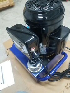 Williams Electric Hydraulic Pump Power Pack 2 Stage Double Acting 120v 10k Psi