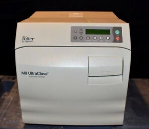 Midmark M9 Ritter M9 Autoclave Ultraclave Sterilizer Automatic Low Cycles