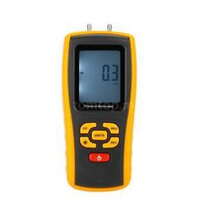 Digital Differential Pressure Manometer Gauge With Temperature Compensation O0a8