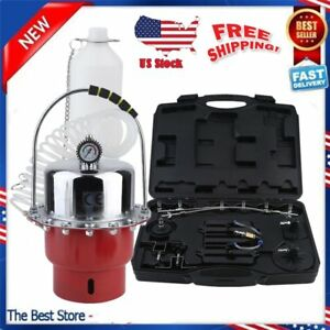 Pro Pneumatic Air Pressure Brake Bleeder Kit Tool Set For Abs System Vehicle My