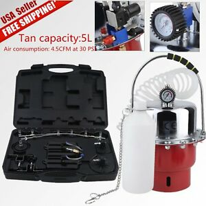 Portable Pneumatic Air Pressure Kit Brake And Clutch Bleeder Valve System Set My