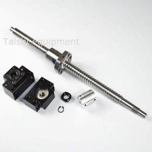 Anti Backlash Ballscrew Rm1605 650mm c7 End Machined 1 Set Of Bk bf12 1 Coupler
