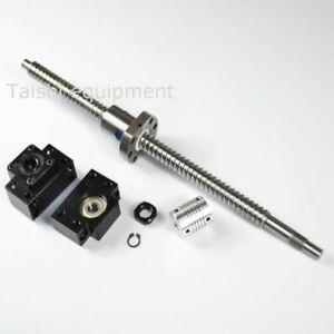 Anti Backlash Ballscrew Rm1605 750mm c7 End Machined 1 Set Of Bk bf12 1 Coupler