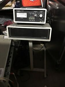 Vintage Chattanooga Intelect 225p Ultrasound On Stand