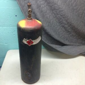 B tank 40cf Acetylene Welding Gas Cylinder Tank Bottle Used