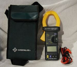 Greenlee Cmp 200 2000a Ac Clamp Meter