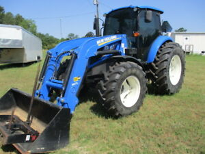 2016 New Holland T4 95 Cab Tractor