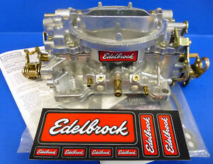 Edelbrock 9904 Performer Series 600 Cfm Carburetor Rebuilt 1404 Manual Choke