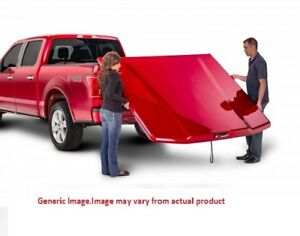 Undercover Lux Truck Bed Cover For 2015 2018 Ford F 150 5 6 Bed Ignot Silver