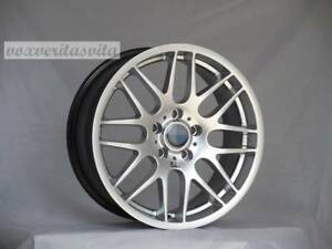 Brand New Set Of 4 Wheels 19 Csl Style Hyper Silver Fits Bmw 3 4 5 Series