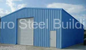 Durobeam Steel 30x50x14 Metal Building Garage Auto Body Shop Structure Direct