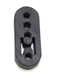 1320 Performance Polyurethane Adjustable Muffler Exhaust Hanger Black Universal