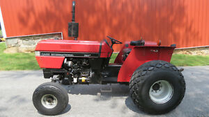 Good Clean 1992 Case International 395 Utility Diesel Tractor 46hp 3pt Hitch Pto