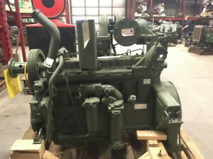 Unused Govt Surplus Caterpillar 3306 Di Diesel Engine