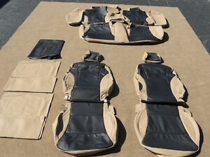 Leather Seat Covers Interior Upholstery Fits Hyundai Sonata Gls Se 2011 14 A115