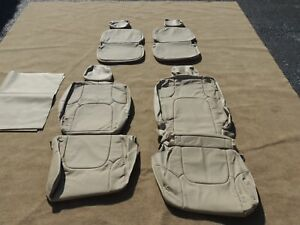 Leather Seat Covers Interior Upholstery Fits Nissan Frontier King Cab 12 14 M105