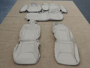 Leather Seat Covers Interior Upholstery Fits Chrysler 300 Tan 2012 2014 M113