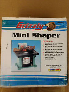 Grizzly Industrial Mini Shaper Model G8693
