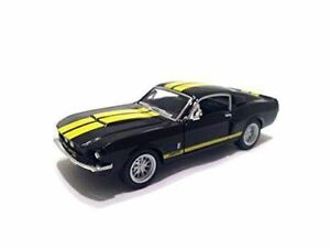 New Kinsmart 5 1967 Shelby Gt 500 Ford Mustang Diecast Model Toy Car 1 38 Black