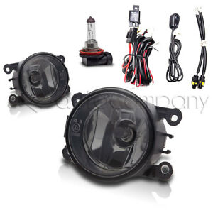 For 2011 2014 Acura Tsx Fog Lights Front Bumper Lights W Wiring Kit Smoke