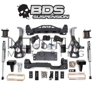 Bds Suspension 2014 Ford F 150 4wd 6 Inch Lift Kit Rear Fox Shocks 1503h
