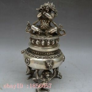 Collection Of Pure Copper Nepal Buddha Incense Burner Smoked Furnace