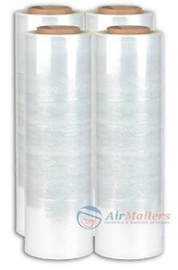 Bravo Pack Cst18150 B Stretch Wrap Heavy Duty 18 X 1500 Clear pack Of 4