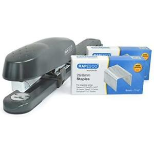 Rapesco Long Reach Stapler And Staples Set 790 With 10 000 26 8mm