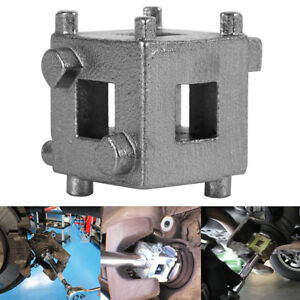 Auto Car Vehicle Rear Disc Brake Piston Caliper Wind Back Cube Tool 3 8 Durable