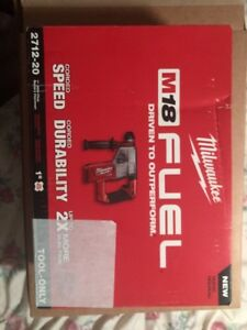 Milwaukee M18 Fuel 1 Sds Plus Rotary Hammer tool Only 2712 20 Brand New