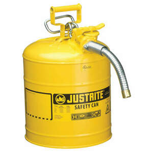 Justrite Type Ii Safety Can 17 1 2 In H yellow 7250230