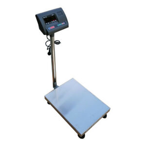 110v1322lb Electronic Commercial Weighing Scale Digital Shipping Postal Platform