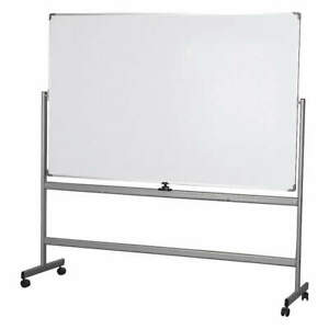 Grainger Approved Reversible Dry Erase Board 75in H 44zc28