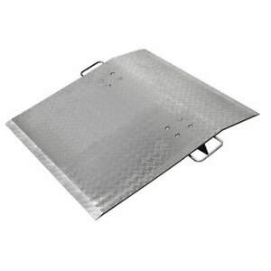Grainger Approved Aluminum Dock Plate 1800 Lb 60 X 48 In 4lgu7