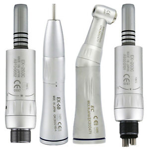 Dental Inner wa Low Speed Handpiece Contra Angle Straight Air Motor Kit Fit Nsk