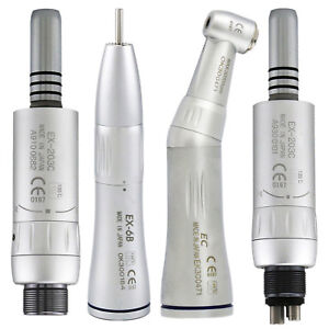 Dental Inner Water Low Speed Handpiece Contra Angle Straight Air Motor Fit Nsk