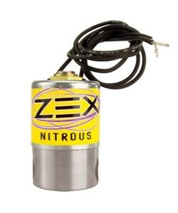 Zex Nitrous Solenoid Kit Purge With Filter Zex Ns6521