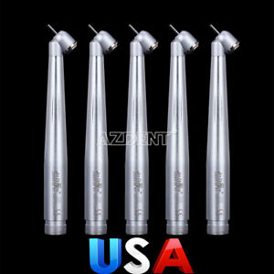 Nsk Style 5 X Dental Surgical 45 standard High Speed Push Button Handpiece 2hole