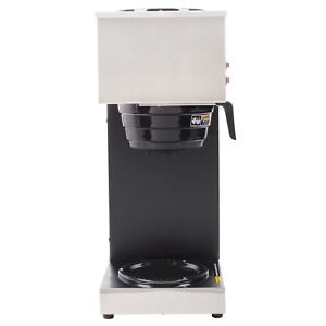 Bunn 33200 Vpr 12 Cup Pourover Coffee Brewer W 2 Warmers 120v Factory Refurb