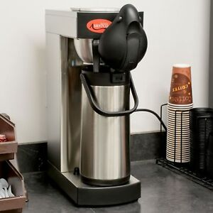 Pourover Airpot Commercial Stainless Steel Coffee Maker Brewer Machine