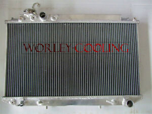 Aluminum Radiator For Toyota Cressida Mark Ii Mx83 7m ge 3 0l At mt 1989 1992