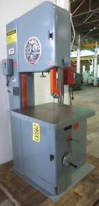Doall Vertical Band Saw 2013 v 29320