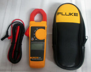Fluke 323 True Rms Digital Clamp Meter Multimeter W case