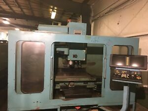 Hurco Bmc 30 Cnc Vertical Machining Center Fanuc Drives