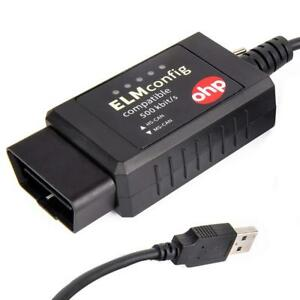 Ohp Elmconfig Elm327 Obd2 Usb Diagnostics Tool hs can ms can Switch Forscan