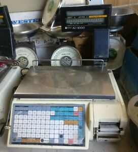 Ishida Ac3000 Price Computing Label Printing Scale
