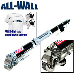 Drywall Master King Pro Automatic Taper Taping Tool 2 Shirts 2 Pairs Gloves